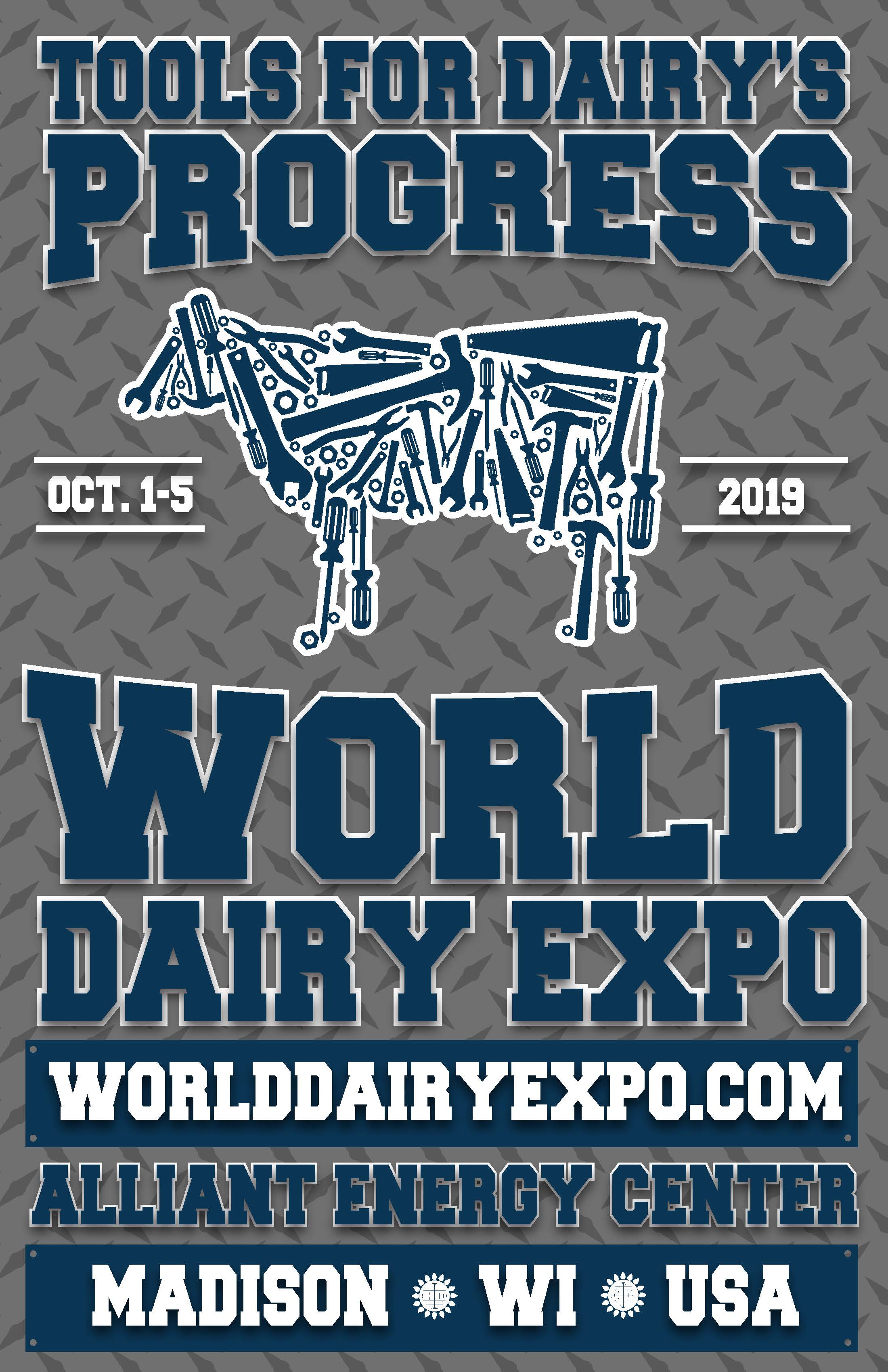 World Dairy Expo Poster